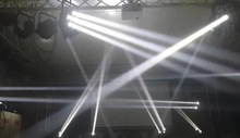 Professional dmx lighting led 8x10w beam led dj mixer
