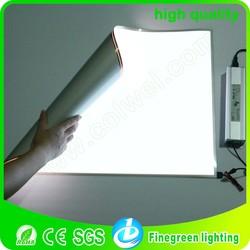 10*10 customize small size el garment factory order sheet, el backlight board
