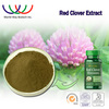 China supplier wholesale Estrogen-like action natural extract powder biochanins trifolium pratense p.e