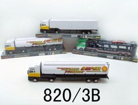 Die cast model truck, die cast trucks and trailers