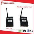 Melhor preço 2.4 GHz 1 W microfone fm transmissor sem fio