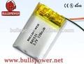 La venta de la fábrica precio 3.7v 180 mah de polímero de litio/li- polímero/lipo batería