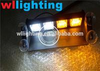 led visor emergency lights 1W LED Visor/Dash Light with 4 Suction cups