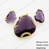 OL style wintersweet shape flexible link bracelets jewelry set