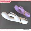 You love it! JNV012 soft silicone white purple passion wave rabbit vibrator