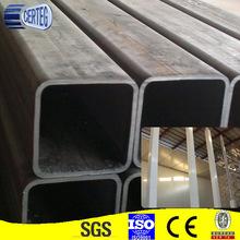 10x10- 500x500 tubo quadrato nero& galvanizzato tubo quadrato& vasca rettangolare