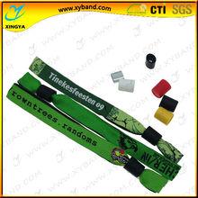 thin promotion free sample music textile wristband