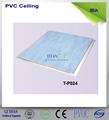 Couleur bleue en pvc faux plafonds pour les toilettes 45% pvc