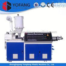 single screw granules plastic extrusion machinery