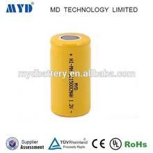 NiMH Battery Pack 9.6V SC Size 1500mAh E-bike, Communication, Power Stations, Boom Boxes, Lighting