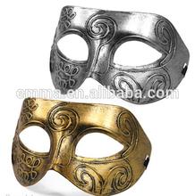 Mens Carnival Masquerade Roman Party Mask Fancy Dress Masked Ball Gladiator