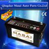 Competitive DIN 12V100AH MF Sealed Maintenance Free Truck Battery