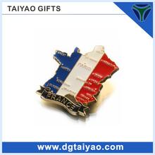 Hot sales in Europe Metal ceramic fridge magnet for souvenir