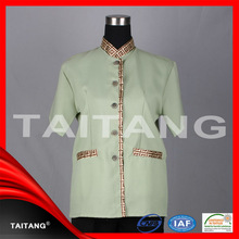 high quality 2014 hot sell Chinese Restaurant unisex stylish pictures of uniforms for nurses