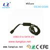 For 2.5''/3.5'' SATAI,II usb to esata sata bridge adapter