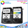 Compatible canon ink cartridge PG-210 CL-211 for canon mp250