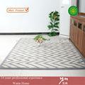 Venta al por mayor estados unidos mechones alfombra de lana, de lana de pelo insertado alfombras