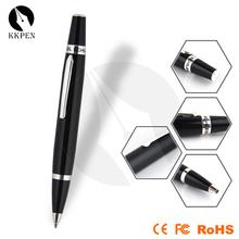 KKPEN antique ball point pen stationary gift special ball pens laser pointer led light ball pen metal pen