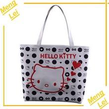 fashion cute HELLO KITTY canvas tote bag