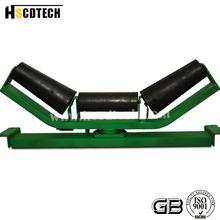 roller conveyor cone upper center-adjusting roller