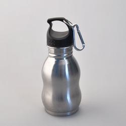 Water Bottle Factory Custom Design Gourd Shape Leak-Proof Sport Bpa Free 350ml/500ml metal water jug