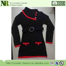 2012 hot selling new design winter women long knit sweaters
