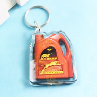 plastic photo keychain photo viewer XSKC2024