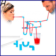 Diy Straw/ Diy Crazy Straw /Plastic Diy Crazy Straw SC011