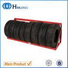 Light stacking steel car tire storage rack