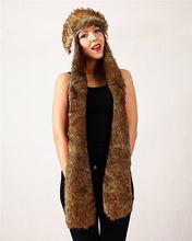 Top level Cheapest High quality crochet children animal hood hat