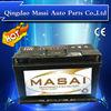 Producing Super Quality Lead Acid Heavy Duty Truck Battery MF56618 12V66AH