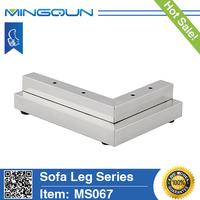 wholesale metal mobile leg /sofa leg