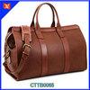 High Quality Big Capacity Genuine Leather Men Sky Travel Luggage Bag