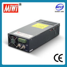 SCN-1000-12 1000W constant voltage high current dc switching power supply 12V 0-80A