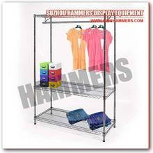 Home Organize Wire Garment Racks, Garment Shelf