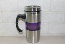 Yongkang factory direct stainless steel vacuum flask with handle