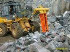 hydraulic rock breaker excavator