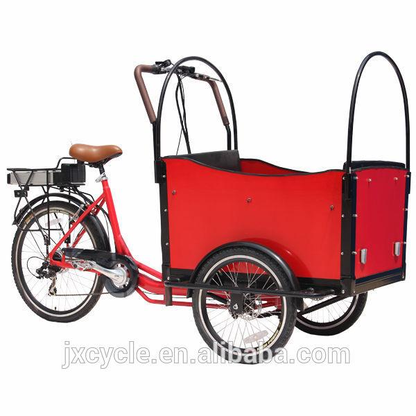 ไฮบริดที่นิยมจักรยานไฟฟ้าสำหรับการขนส่งสินค้า