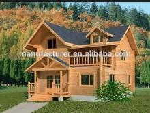 Modern Wooden Prefabricated Apartment
