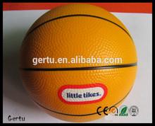 5 inch Pu foam Sponge basketball stress ball