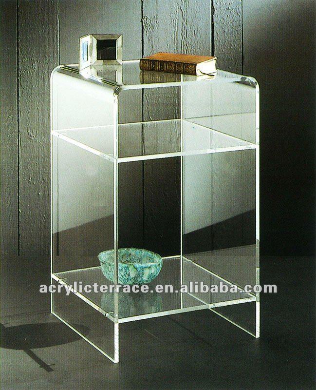 Clear plexiglass/acrilico fine/lato/letto xm-71513 tavolo ...