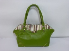 genuine leather tote bags , double handles ,multi color. italy design fashion London show design