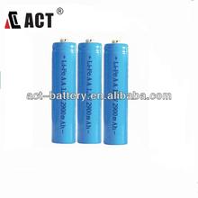 lithium iron phosphate battery1.5v Li/FeS2 lithium battery 1100mAh