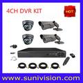 venta caliente sistema de vigilancia de seguridad baratos cámara dvr kits