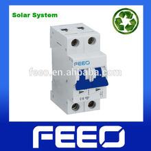 63A Solar System MCB 2P Mini Photovoltaic Circuit Breaker