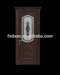 2014 newest popular interior black walnut wooden door