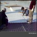 Pista de hielo sintética para comunidad/patio trasero pista de hielo/placa de pe de plástico para pista de patinaje