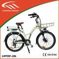 As mulheres a escolha da bicicleta elétrica lmtdf- 28l de estilo urbano
