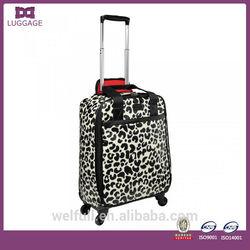 Hard shell Soft side EVA Customized Animal Print Luggage