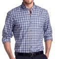Gros mens marine, z2s chemise à manches longues, mens chemises à carreaux